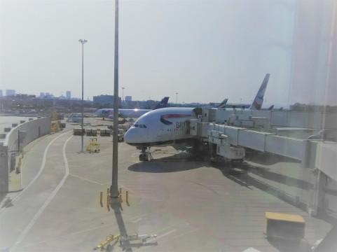British Airways A380 Boston, MA