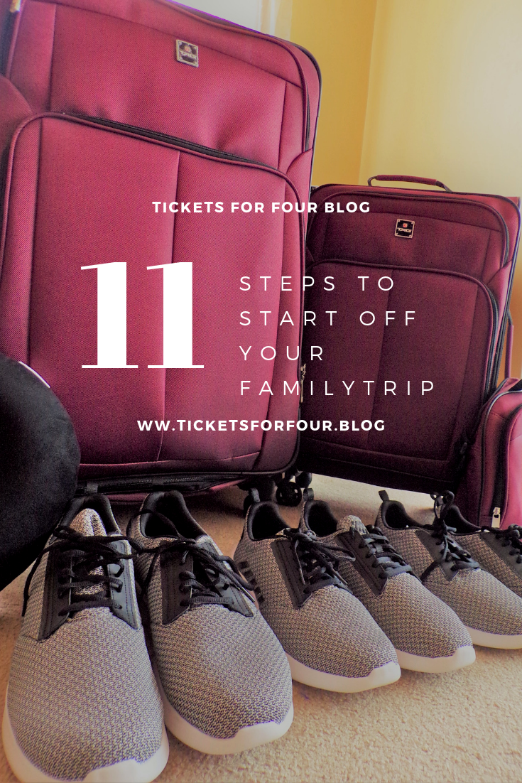 11 Steps to Start Off Your Family Trip:Planning a new trip or adventure can be stressful for anyone. You can find yourself in a bit of a daze. Worrying about little ones having fun and still trying to cross off that bucket list. We have a list full of tips to help you get your plans off the ground. #Howtoplanavacation #Howtostartplanningafamilytrip #Stepstoplanavacation #TravelTips #TravelHacks