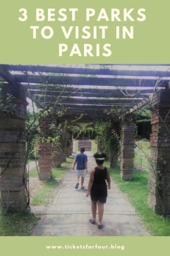 3 Best Parks to Visit in Paris: Whether you are looking for a place to have a picnic or a break from your sightseeing tours. Vising reputable parks while on vacation is always a great idea. With so much to see and do in Paris what are the Best Parks to Visit? We have a list of our top 3 Best Parks to Visit in Paris with kids. #BestParksinParis #TopParksinParis #BestParksinParisforKids #Paris #France
