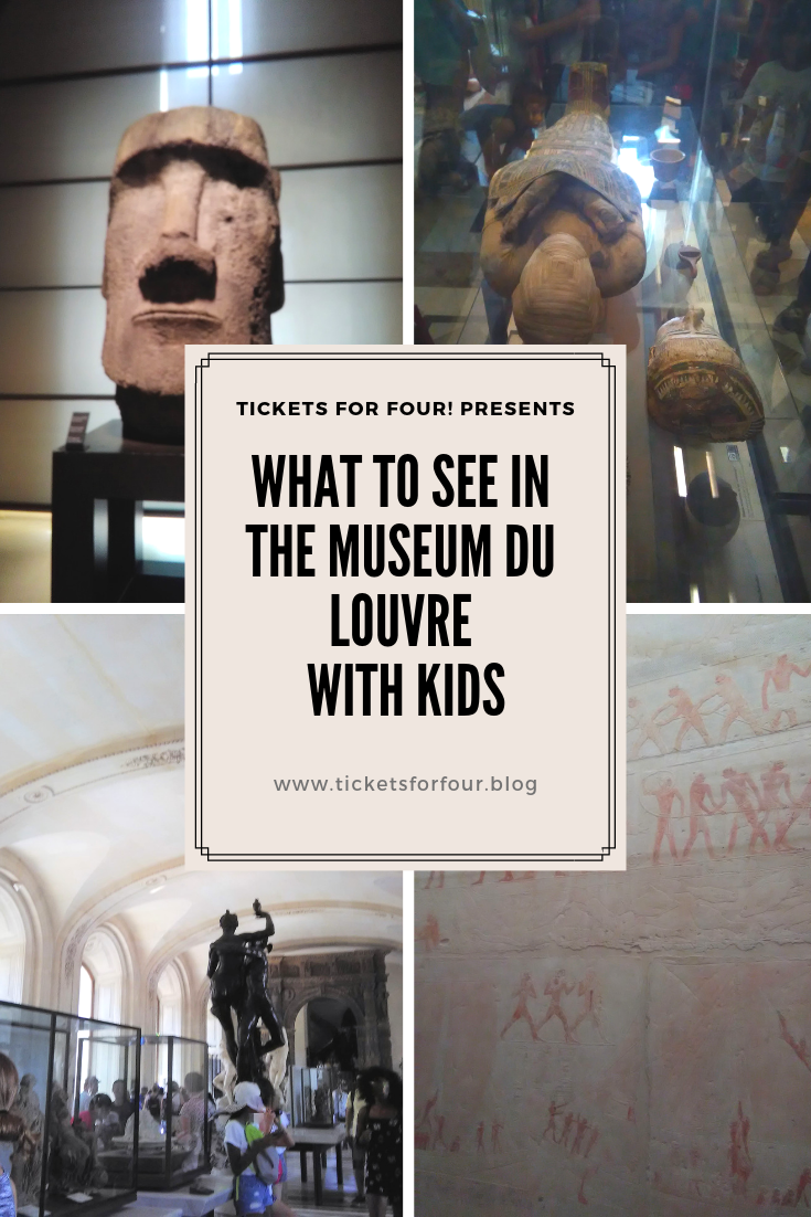 What to see in the Museum du Louvre with kids:The Louvre Museum is one of my favorite museums in Paris, France. This is a great experience for any family. While some may say that the Louvre is not centered for children. It can be enjoyed by every member of your family. Originally, the Louvre was the main residence for French kings. In 1793, it became a museum. Today it exhibits over 73,000 m of art and has 35,000 pieces on display. #MuseumduLouvre #Paris #MuseumduLouvrewithkids #ThingsToSeeInMuseumduLouvre