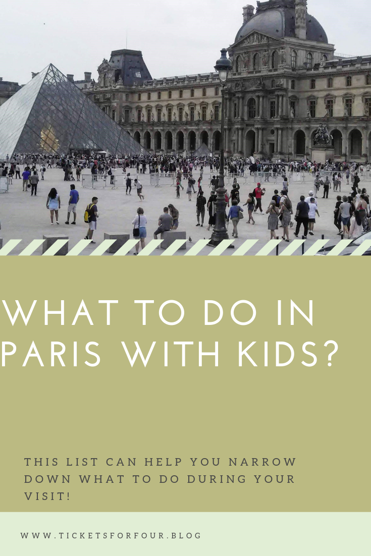 What to do in Paris with Kids? #WhattodoinPariswithkids #ParisWithKids #Paris #France