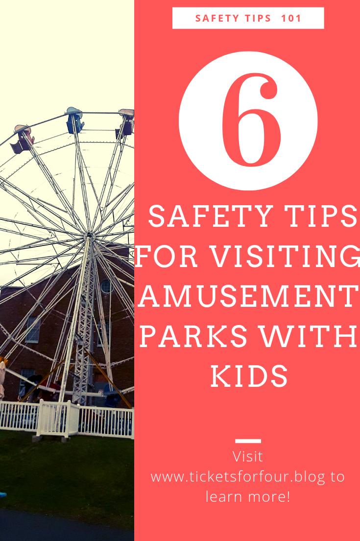 Amusement Parks or Theme Parks are any kid's dream land! It can also be a nightmare for parents with so many things to worry about. With little children or bigger children, safety is always a priority. Luckily, we have a list of Safety Tips to help! While this list is in no particular order, they are intended to help #kidssafetips #travelsafetytips #AmusementParkssafetytips #safetytipswhiletraveling #keepingkidssafe