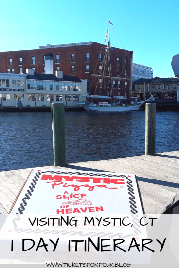 Visiting Mystic,CT 1 Day Itinerary: When I begin to think about Mystic, CT the first thing that comes to mind is the Mystic Pizza movie. I think that is what most of us think about. Visiting Mystic,Ct is a wonderful experience that the whole family can enjoy. The movie alone brings swarms of people to visit. Its is a beautiful place to spend the day. It is also a great place to visit with your family. #Mystic #Connecticut #WhattodoinMystic #WhattodoinConnecticut