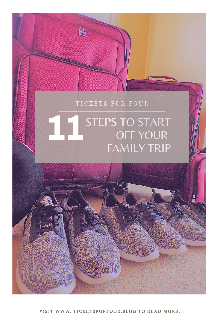 11 Steps to Start off Your Family Trip: Planning a new trip or adventure can be stressful for anyone. You can find yourself in a bit of a daze. Worrying about little ones having fun and still trying to cross off that bucket list. We have a list full of tips to help you get your plans off the ground. #Howtoplanavacation #Howtostartplanningafamilytrip #Stepstoplanavacation #TravelTips #TravelHacks