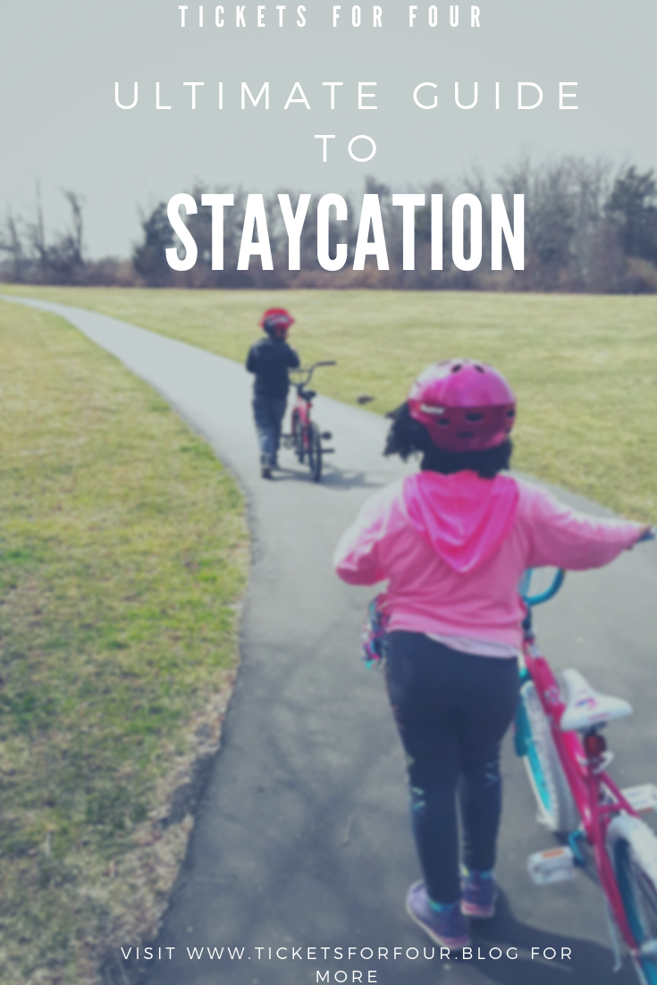 Ultimate Guide to a Staycation: One of the things that I hear the most when I talk about travelling is that they can't afford to travel. While travelling farther away can accumulate the final price tag. Exploring your State can be FREE or cost you a small amount. You may have just moved to the area or, have lived there for years. Believe it or not, there is always something to do, to visit, to see, or to experience. #staycation #stay-cation #exploreyourstate #whattodowithkidsonbreak