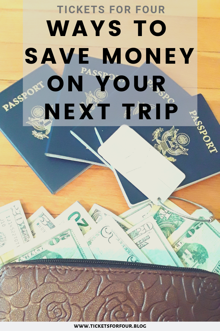 Ways To Save Money On Your Next Trip: This article will help you to save and even cut spending on your next trip. So when it comes to saving money you need to find out what costs the most so you can save in those areas. Some of the most expenses on vacation are lodging, food, things to do, and personal items. Here are some ways to help you save money while being on vacation. #TravelHacks #TravelTips #SaveMoneyonVacation #Budget #ToGet
