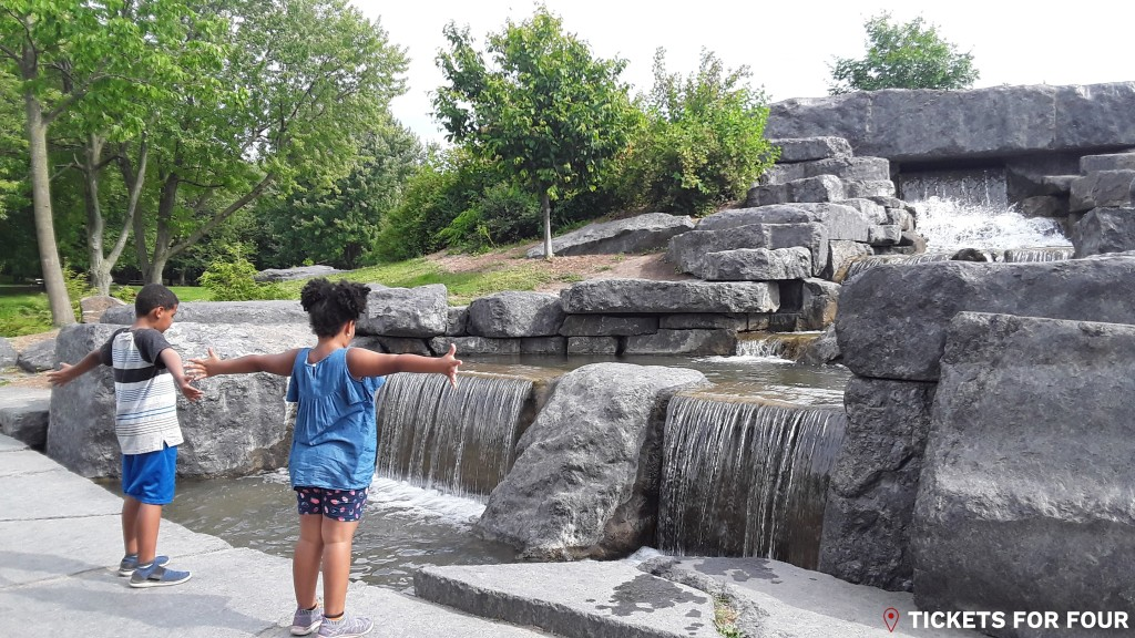 The Waterfalls at Beaver Lake in Montreal by Tickets For Four