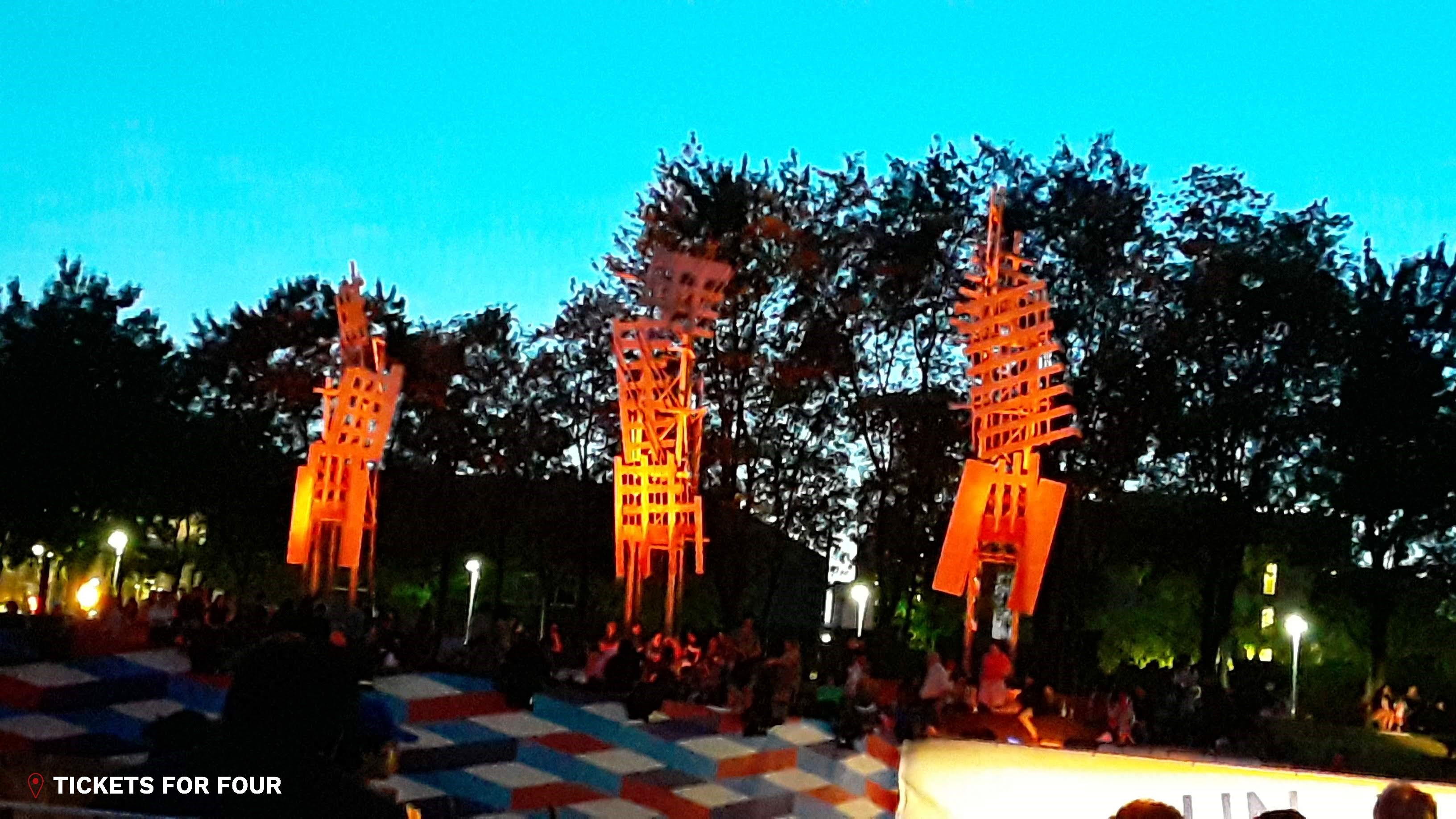 Montreal Cirque Festival by Tickets For Four