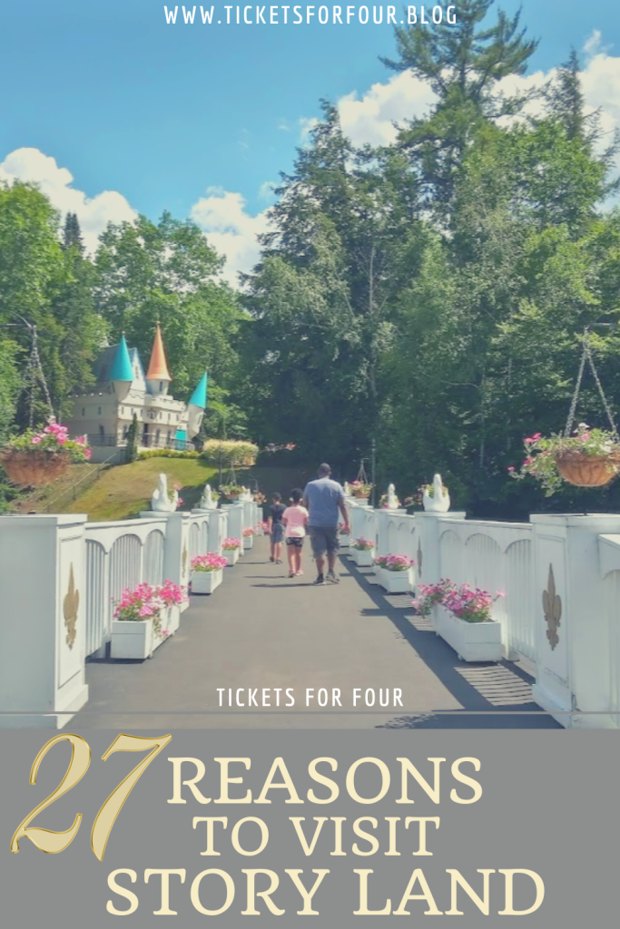 27 Reasons To Visit Story Land: Story Land is a family theme park in New Hampshire.  Story Land is a kid friendly amusement park that features over 30 attractions perfect for making little ones smile. We put together a list of reasons why you should plan a visit to Story Land! #WhatToDoInNewHampshire #WhatToDoWithKidsInNewHampshire #WhatToDoInNH #WhatToDoWithKidsInWhiteMountainsNewHampshire #WhatToDoInWhiteMountainsNewHampshire #ThingsToDoInStoryLandNH